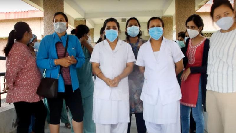 staff nurse bpkihs